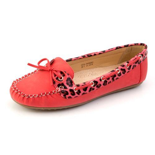 Женские мокасины «Леопард»