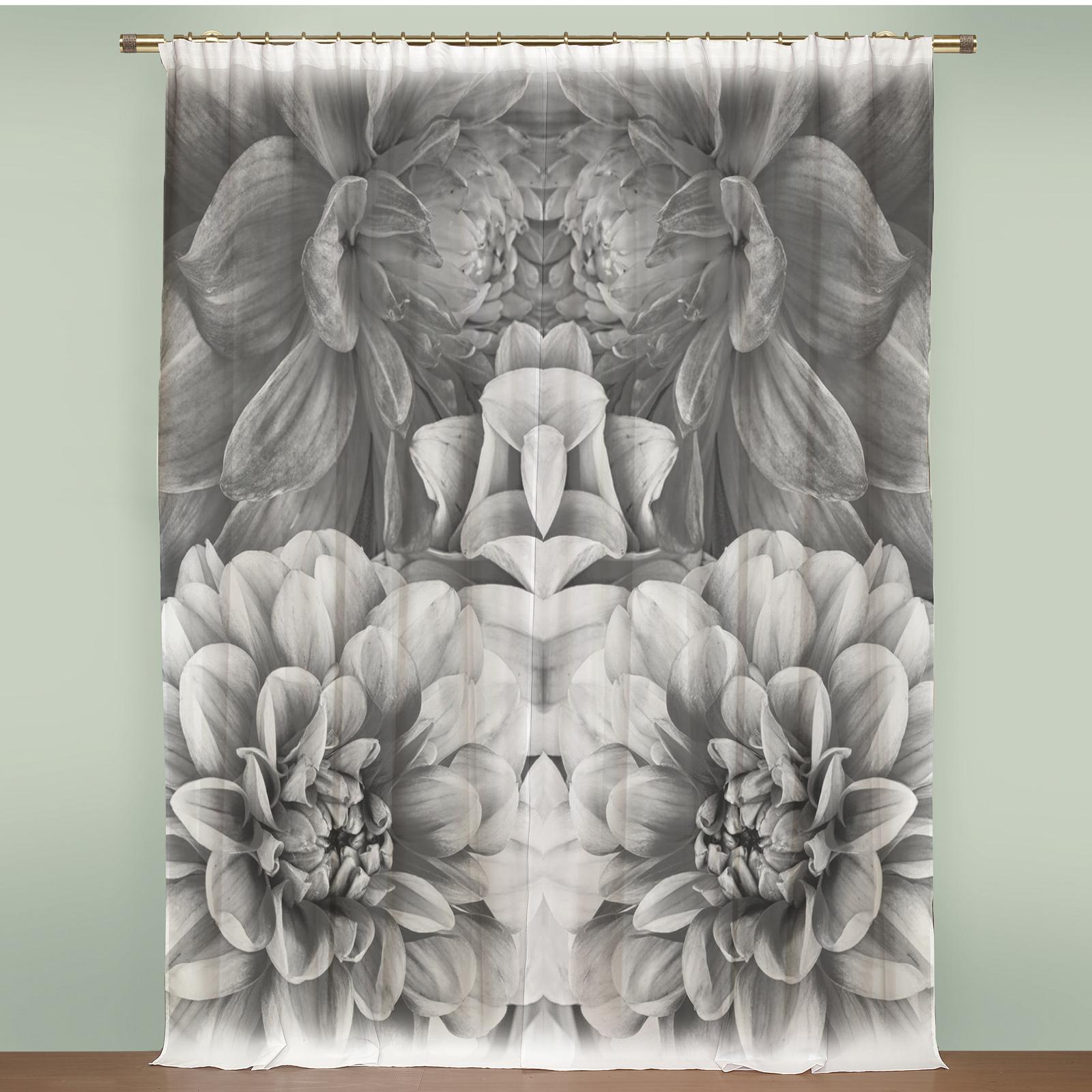 Комплект штор «Живые цветы»
