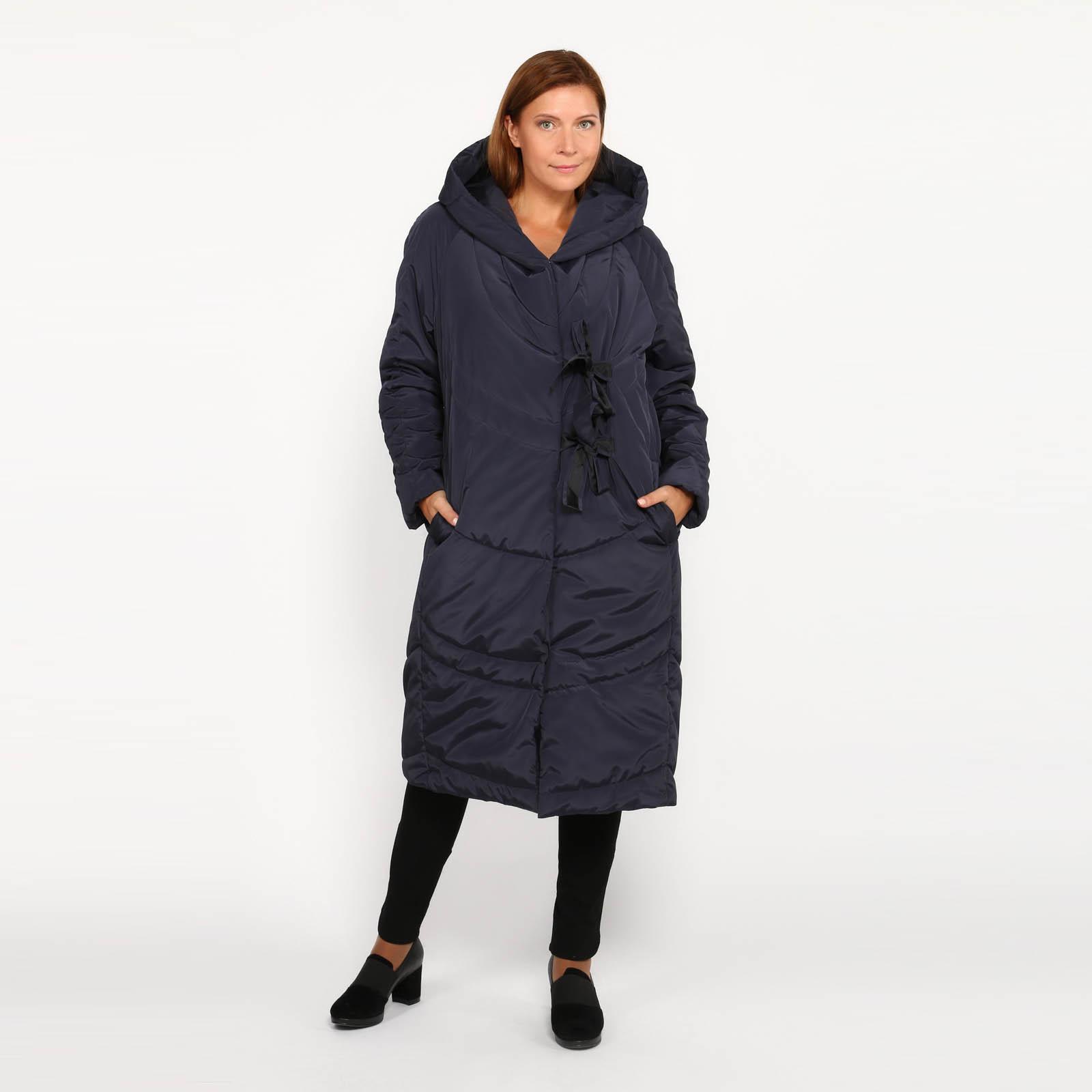 Пальто на завязках с капюшоном