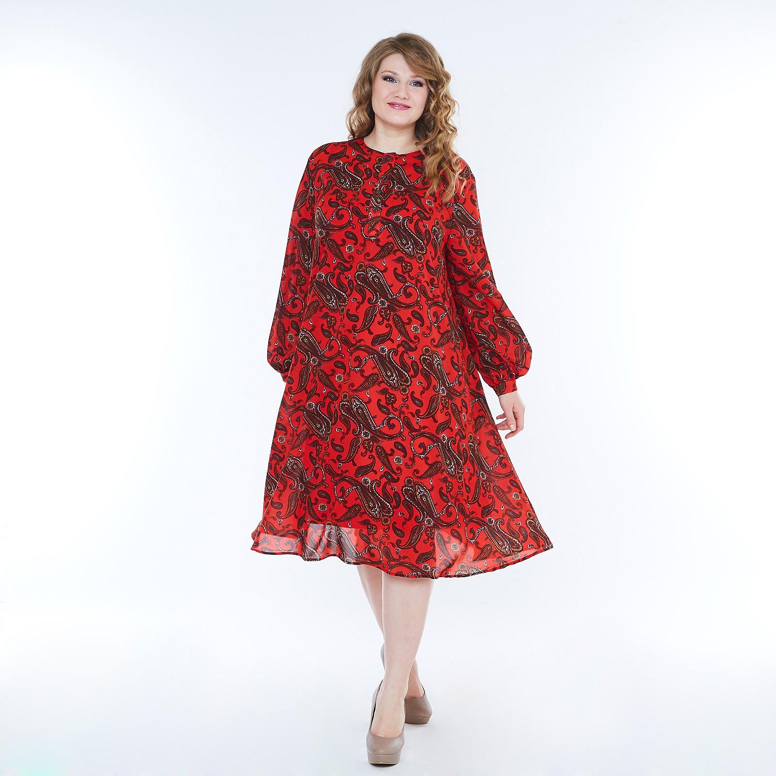 Платье свободного кроя с изящными рукавами виброплатформы для похудения в алматы в интернет магазине