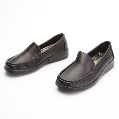 Туфли женские с крупной прострочкой на мысу