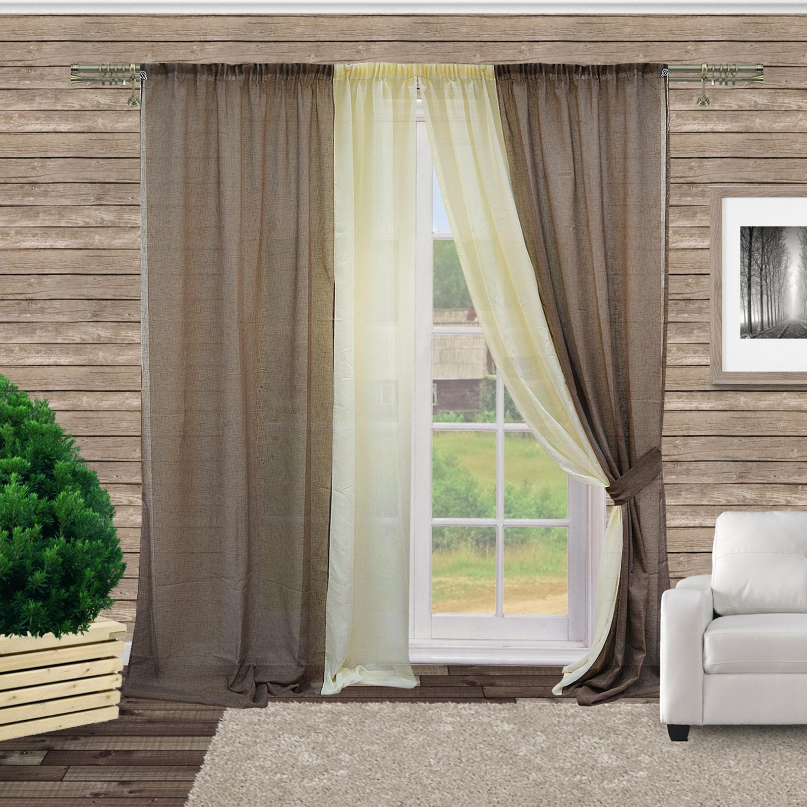Комплект штор «Уютный дом»