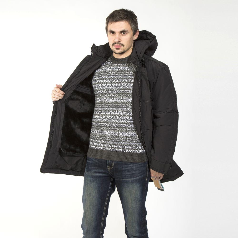 Куртка удлиненная на кулисе по низу