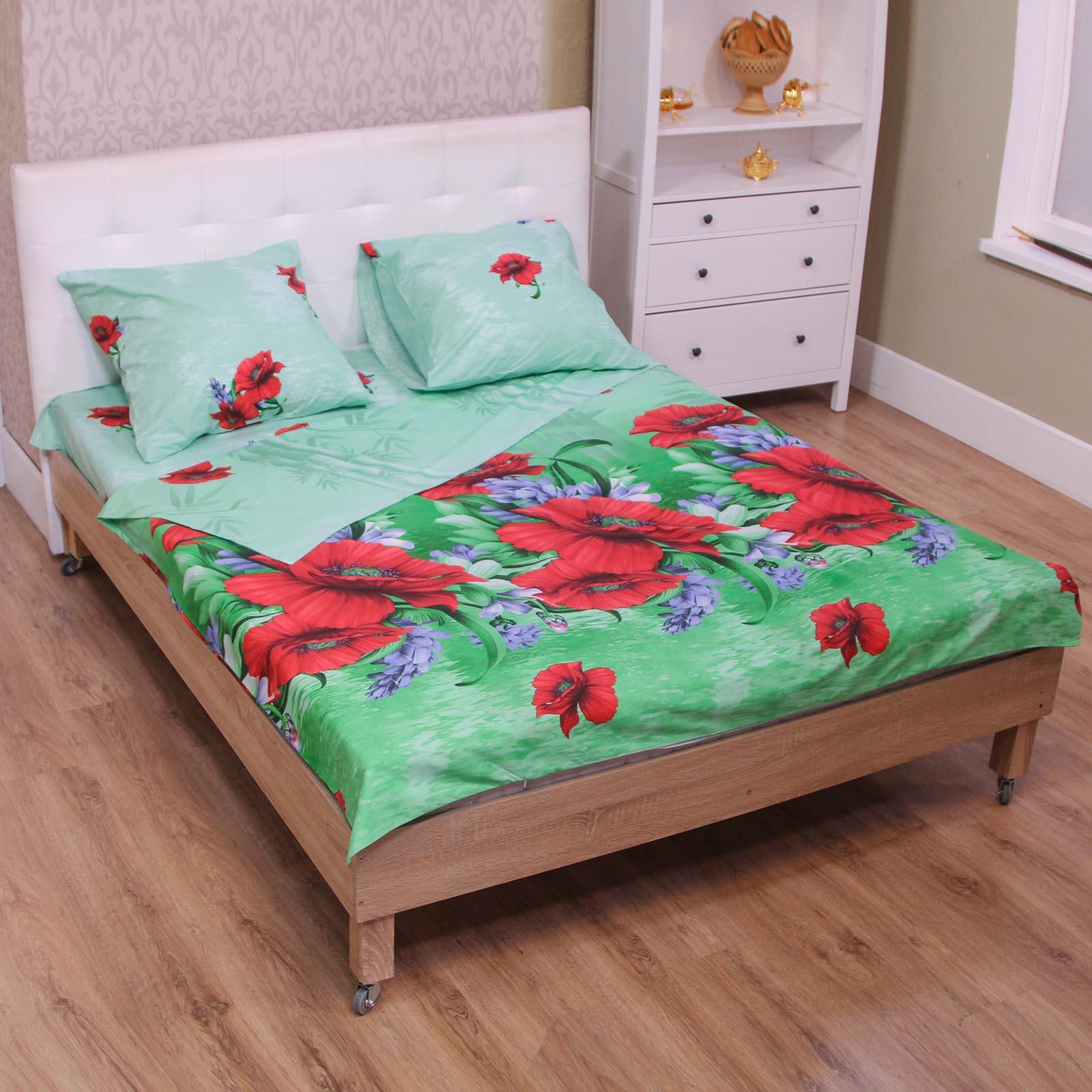 Комплект постельного белья «Цветущий букет»