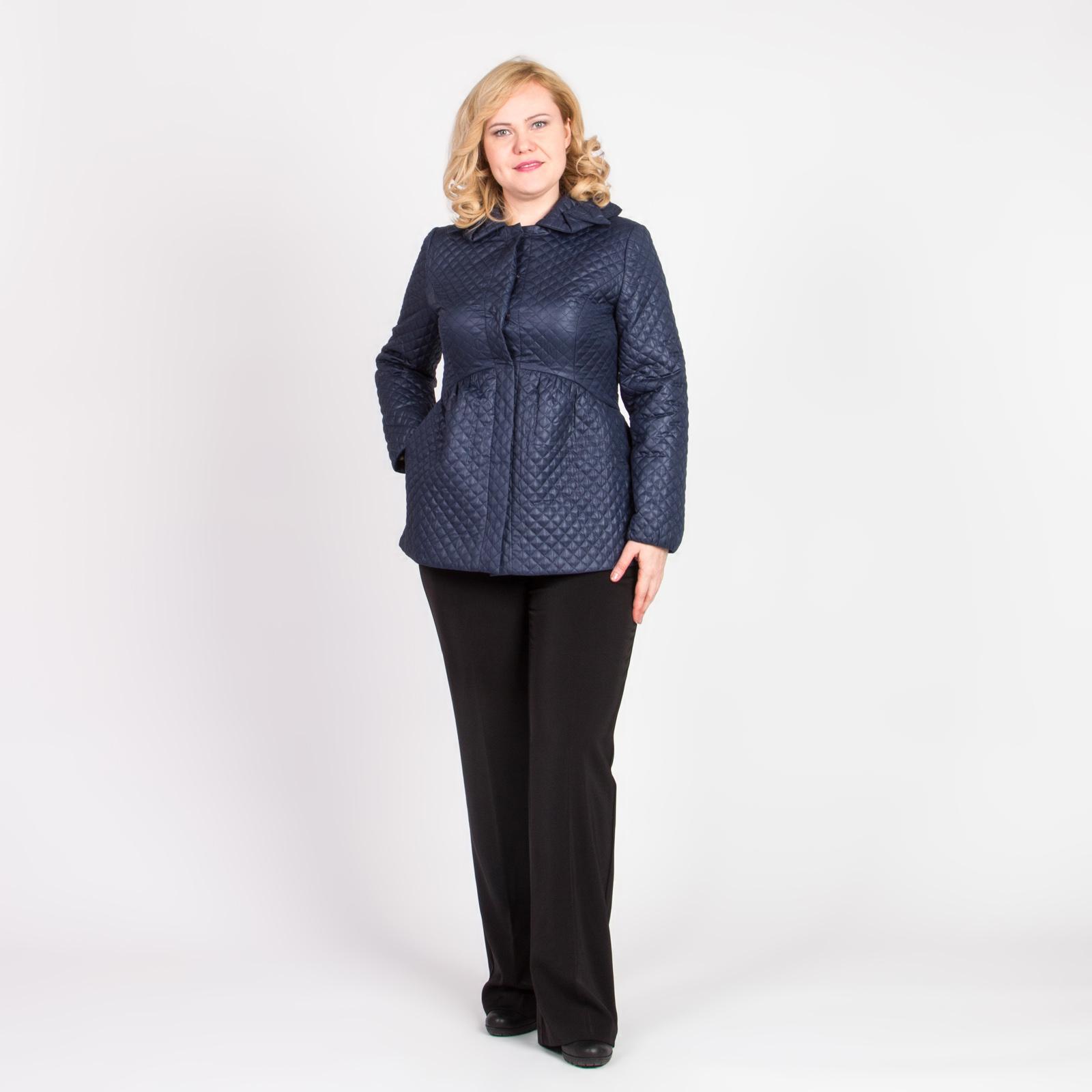 Куртка стеганая с воротником трансформером