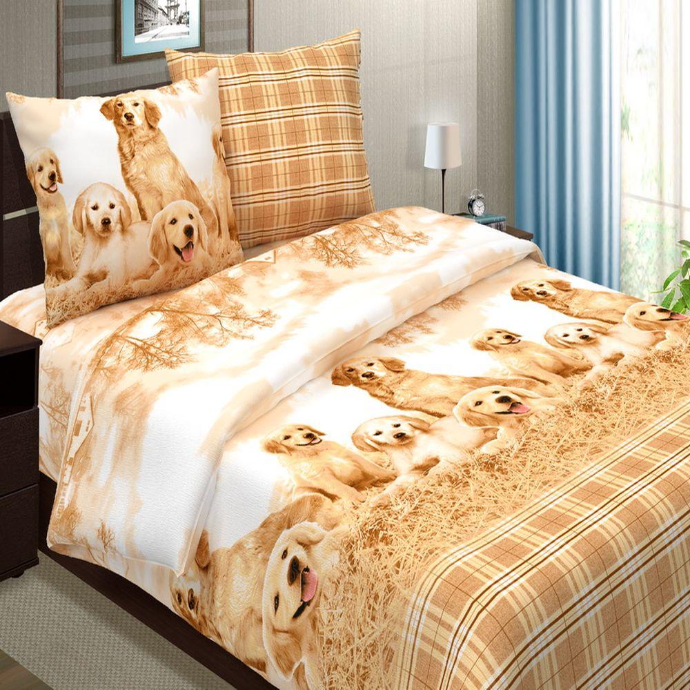Комплект постельного белья «Верные друзья»