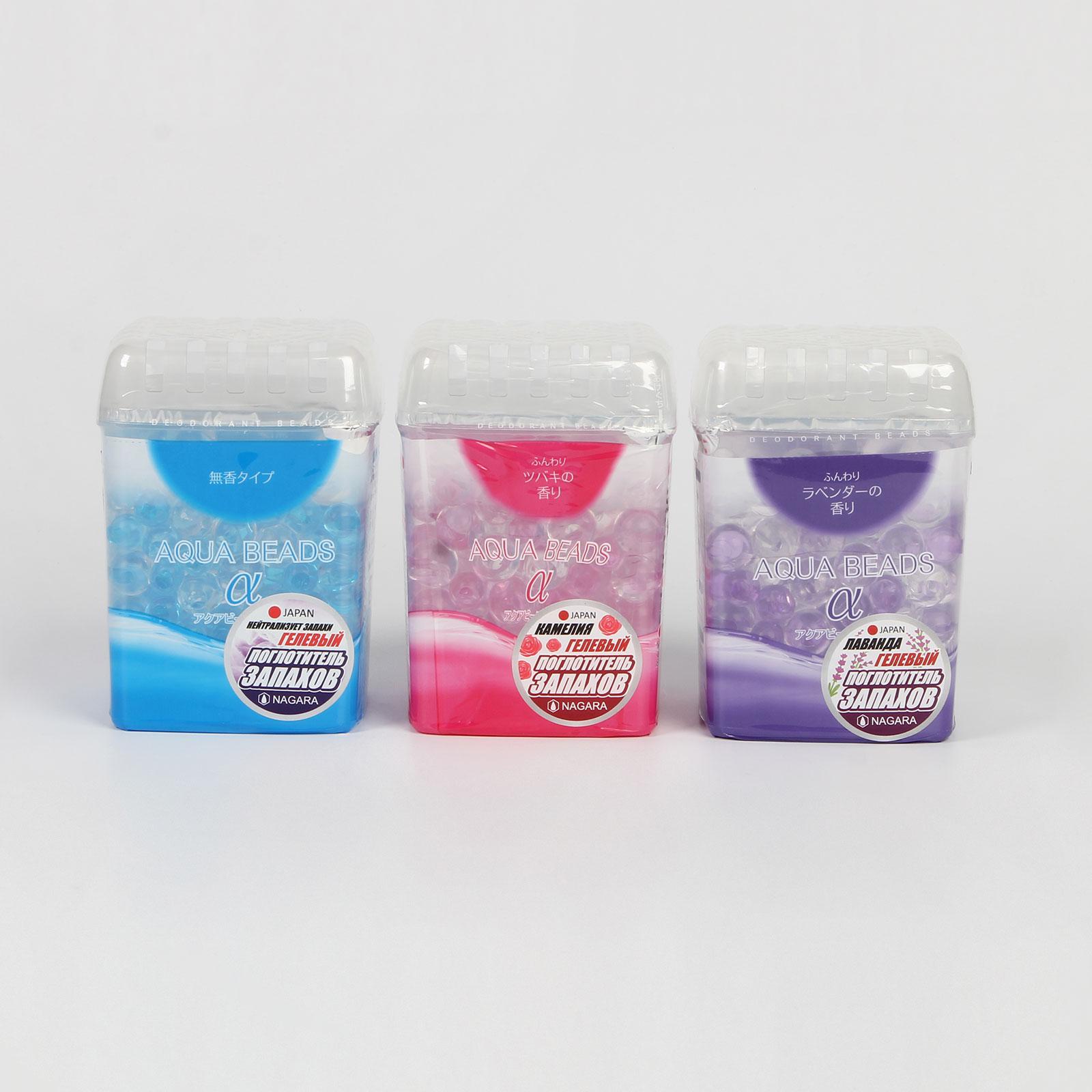 Арома-поглотитель запаха гелевый, 3 шт.