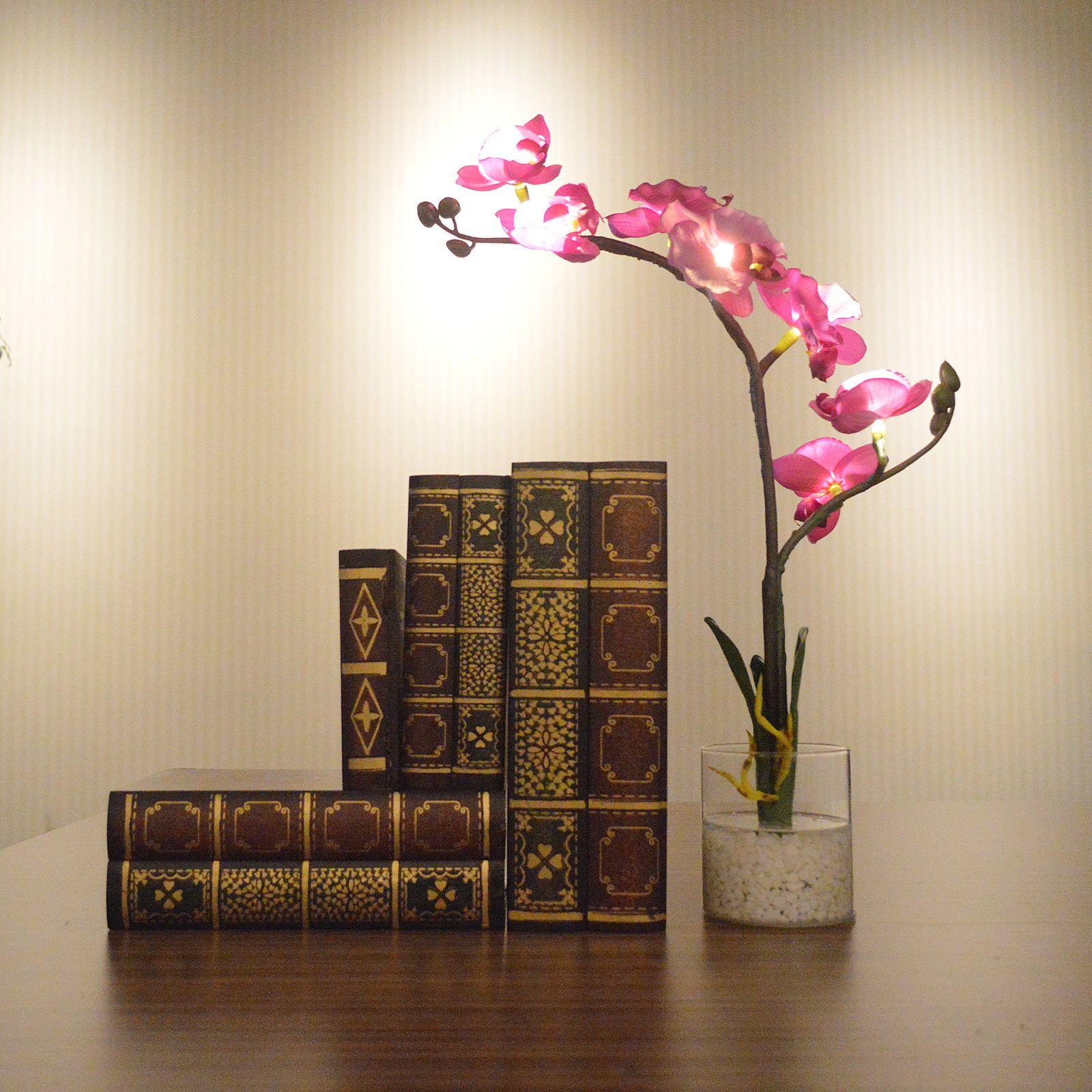 Декоративная орхидея с подсветкой