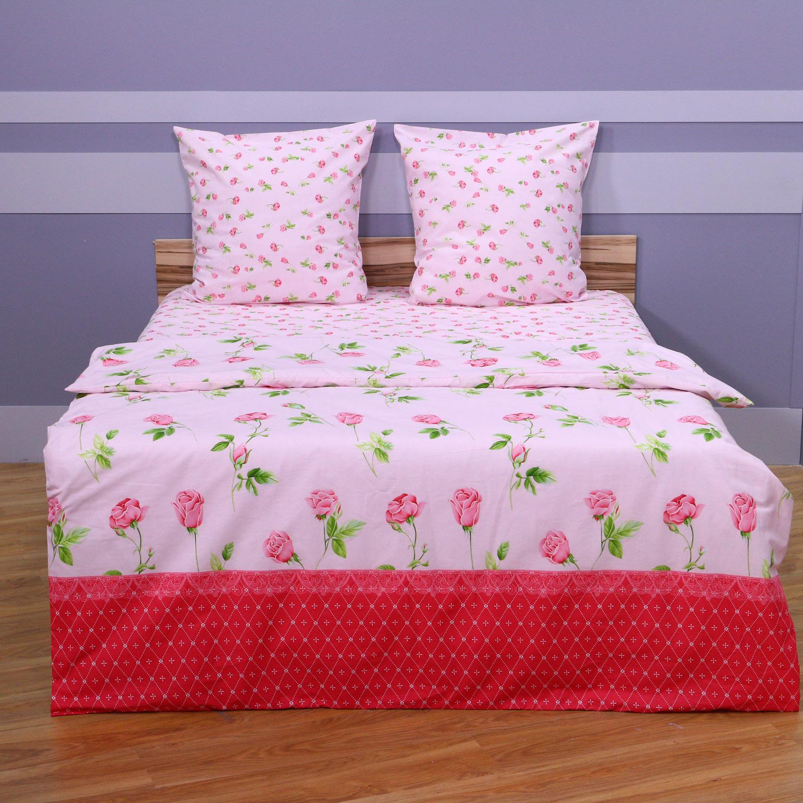 """Комплект постельного белья """"Розовый Цветочек"""""""