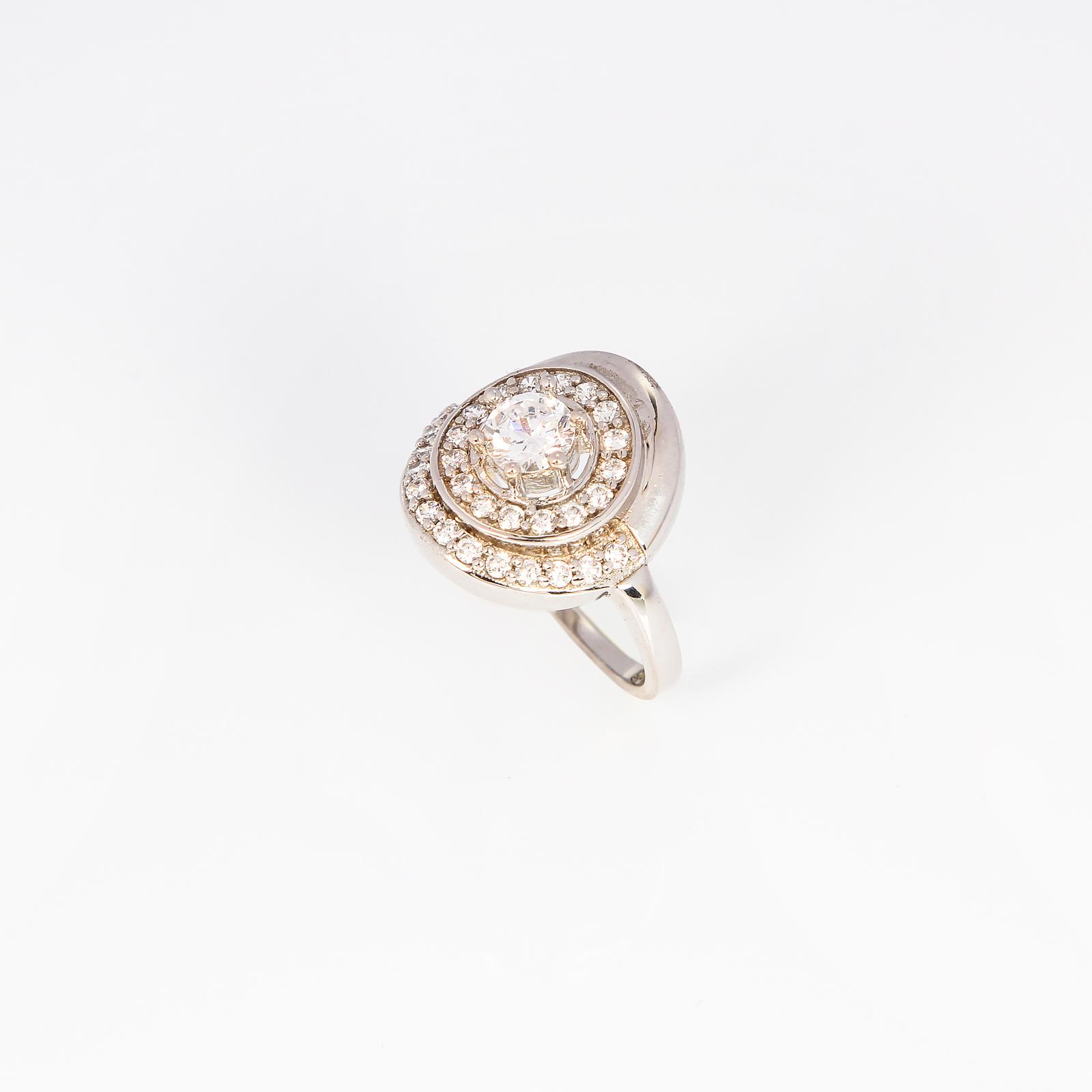 Серебряное кольцо «Леди Шарм»