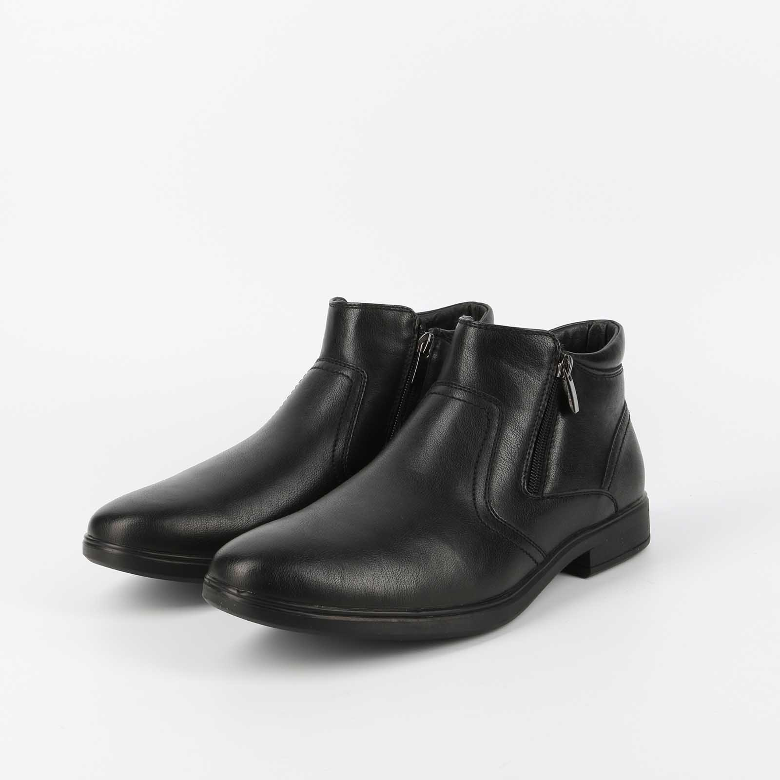 Ботинки мужские с красивой молнией