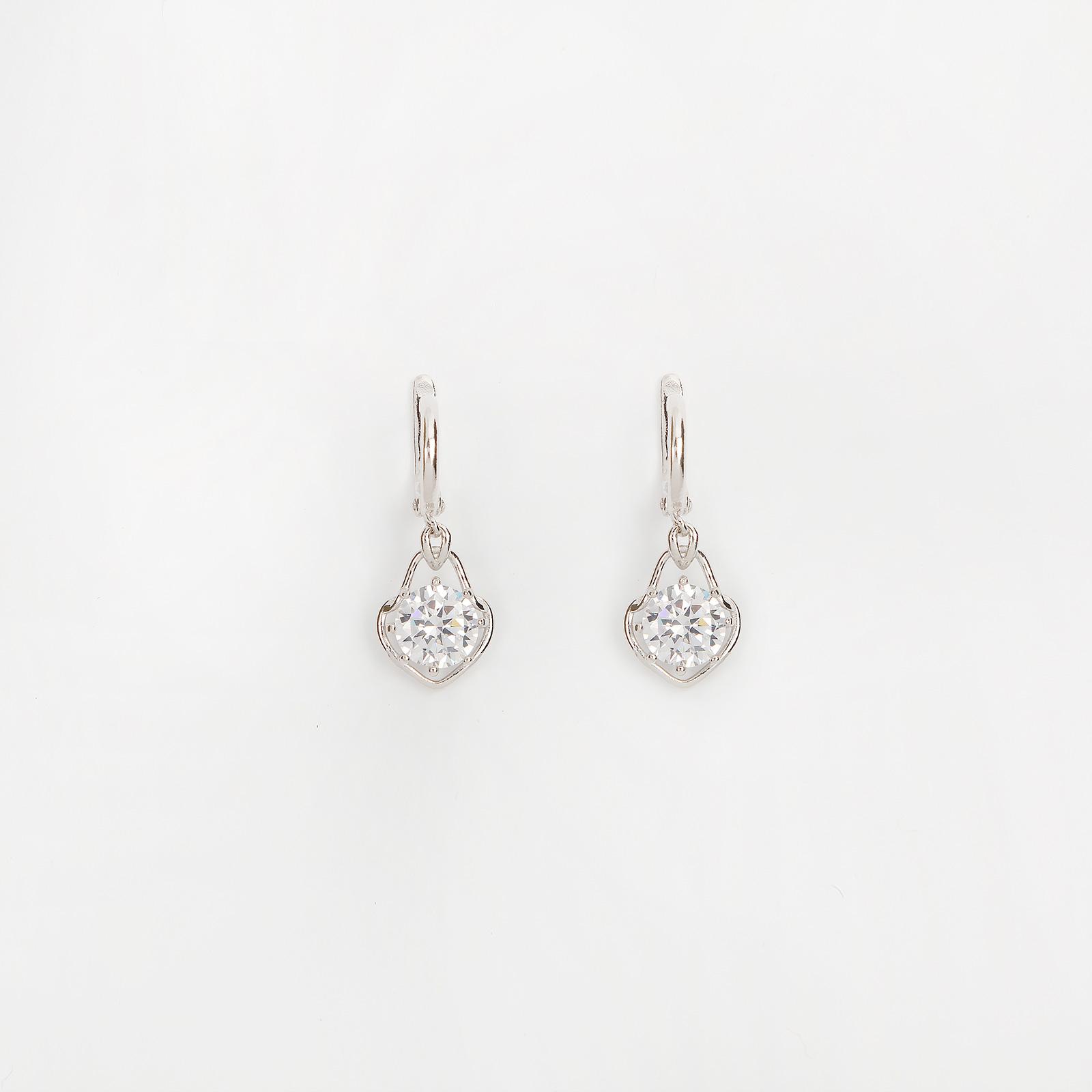 Серебряные серьги «Нежный взгляд»