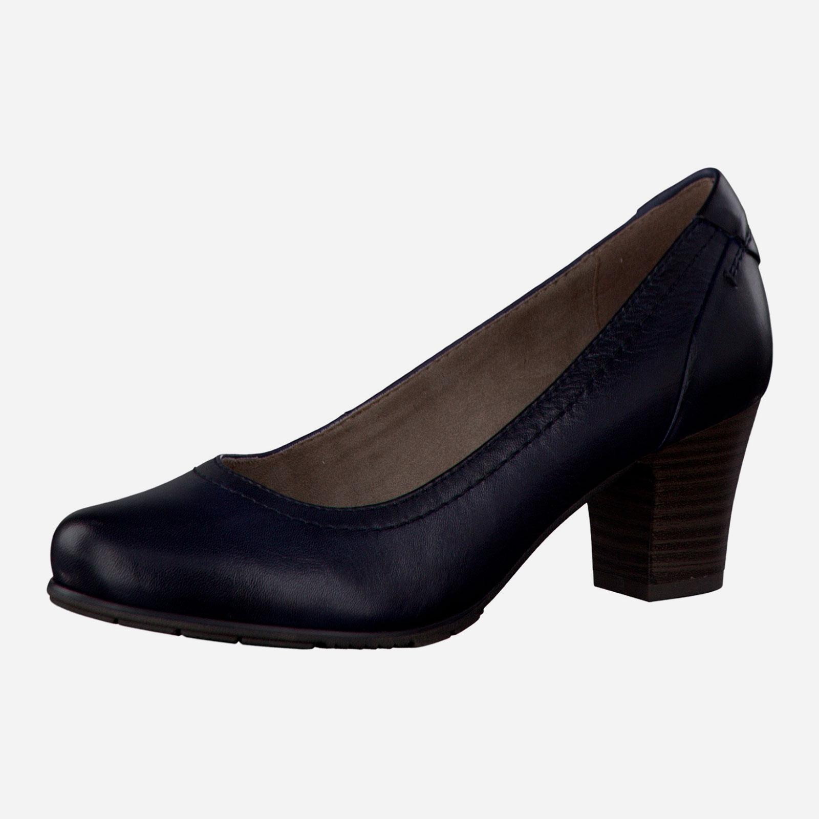 Туфли женские с накладкой на пятке