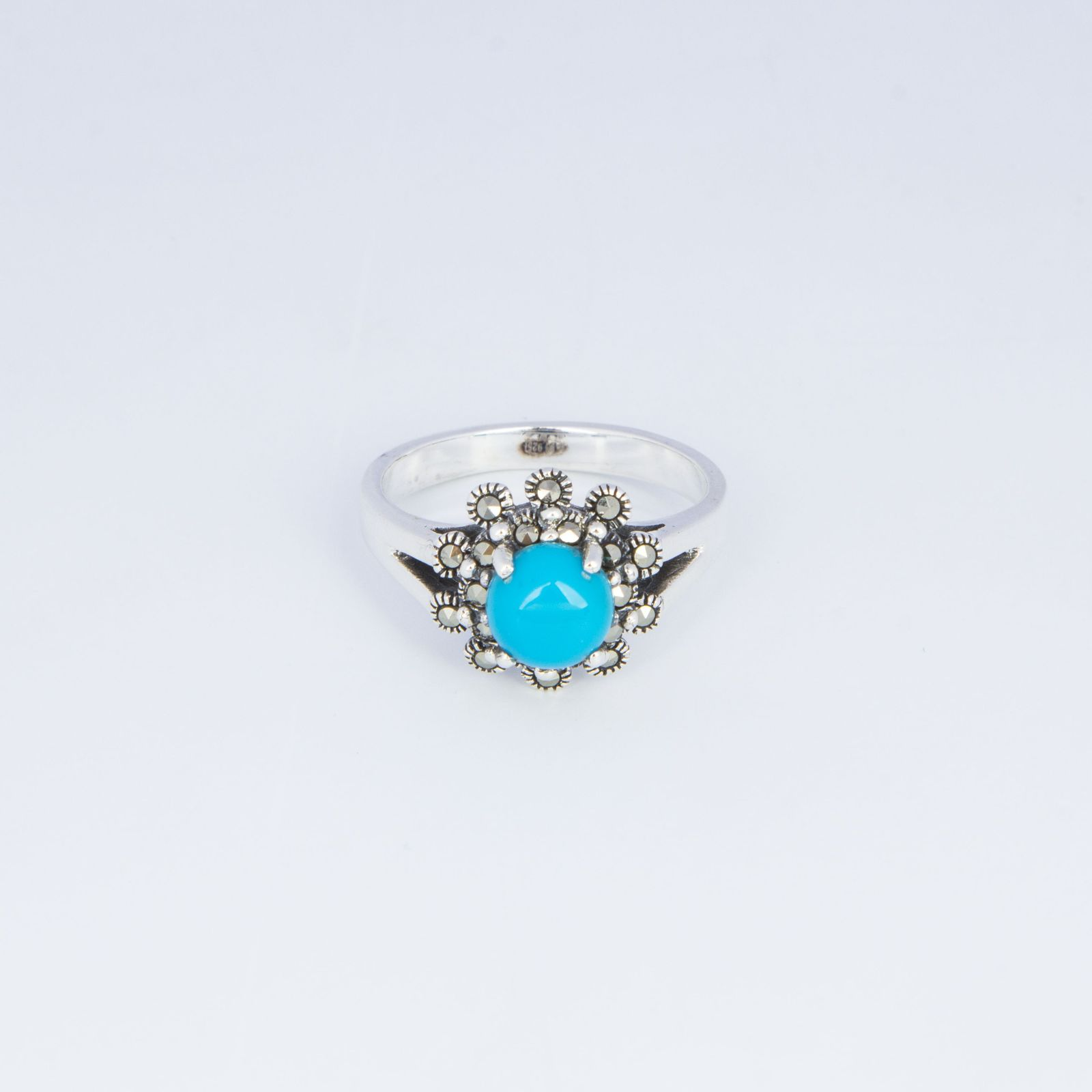 Кольцо «Бирюзовая нежность»