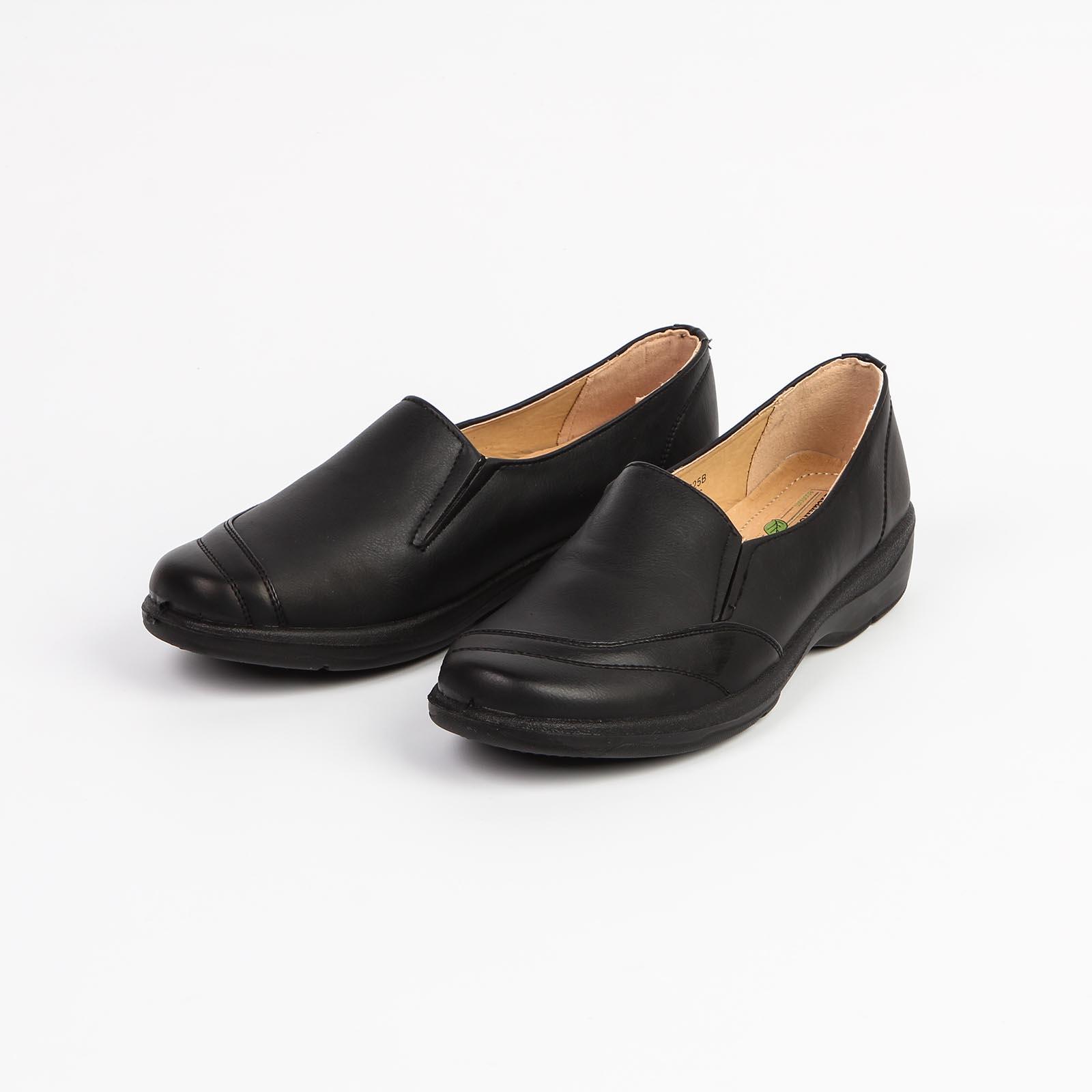 Женские туфли с эластичными вставками