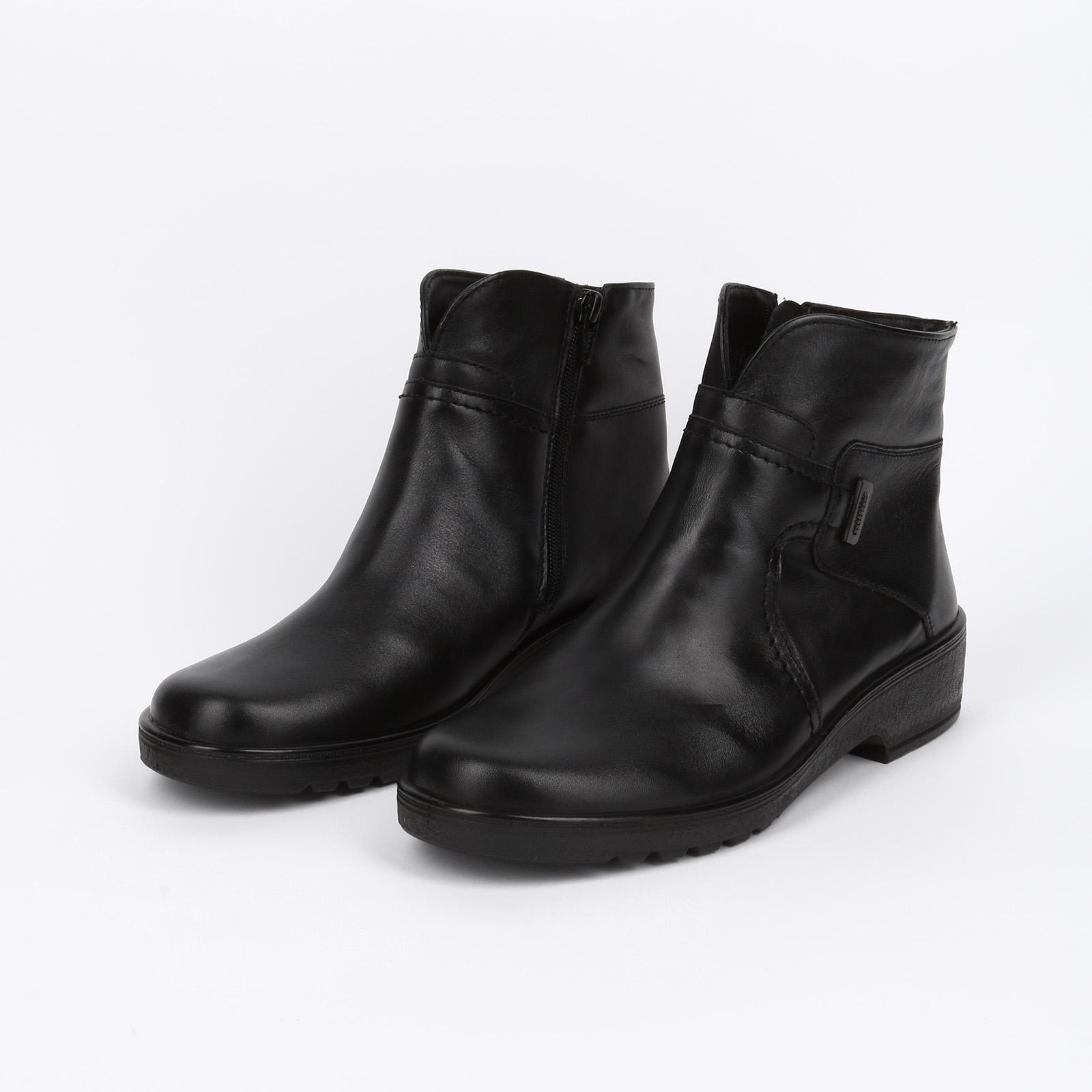Ботинки женские на молнии