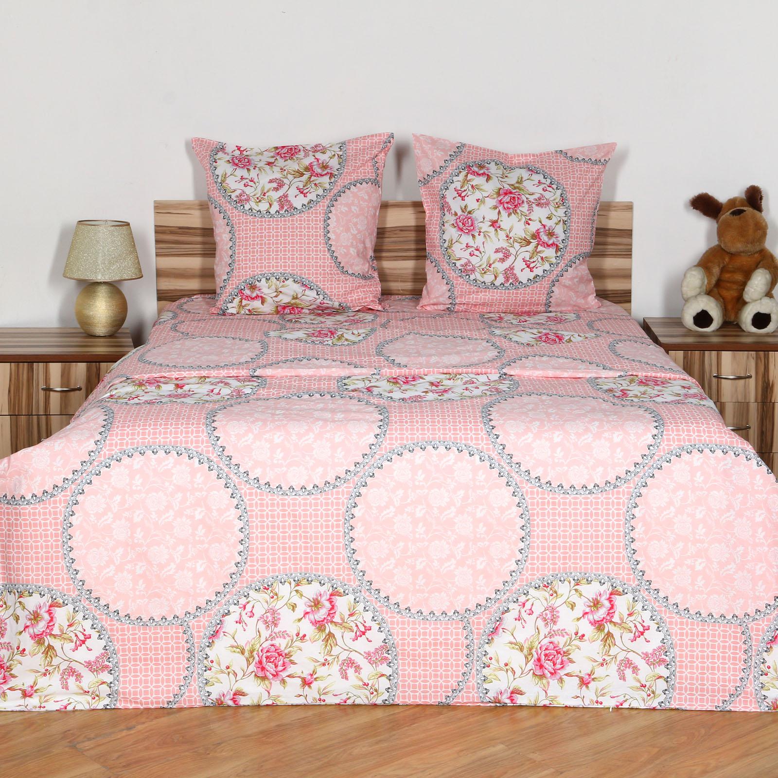 """Комплект постельного белья """"Розовый Шармэль"""""""