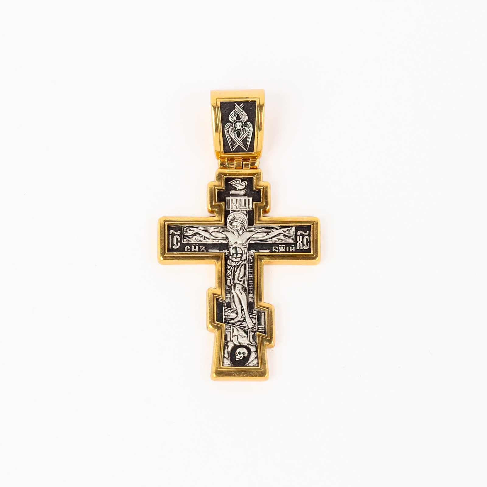 Крест «Распятие Христово Архангел Михаил»