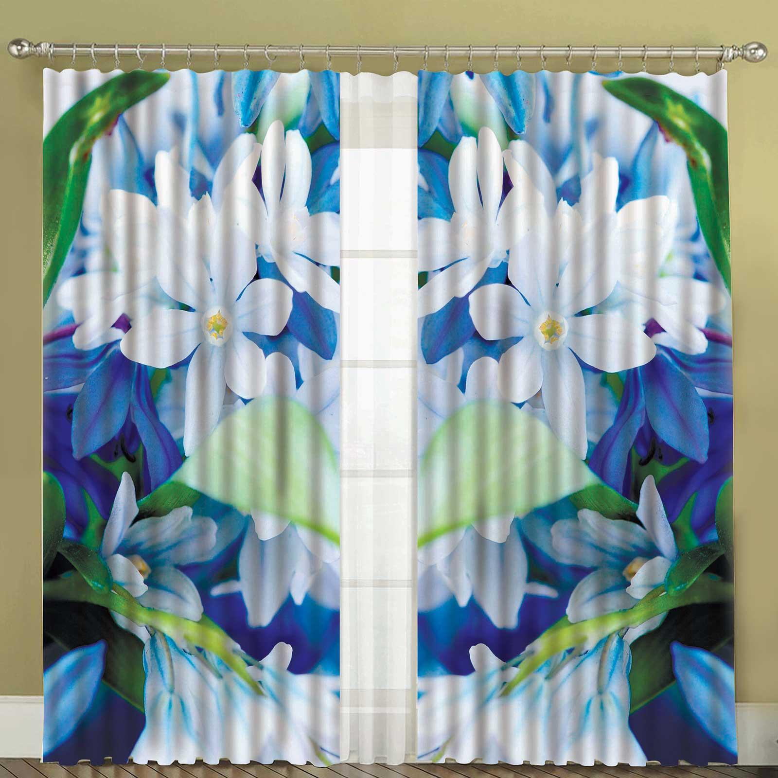 Комплект штор + тюль «Жасмин»