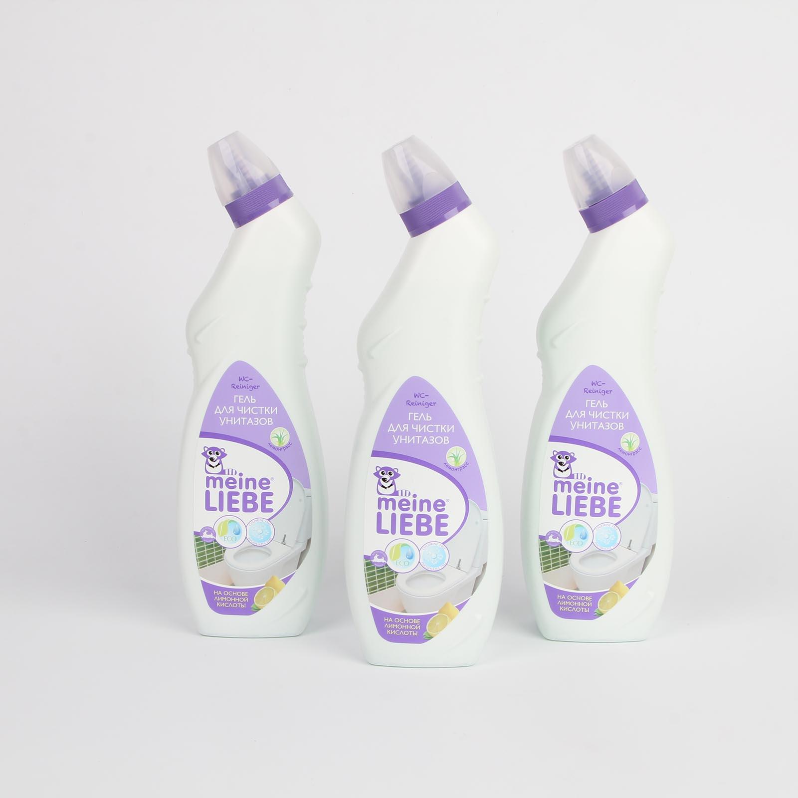 Гель для чистки унитазов на основе лимонной кислоты