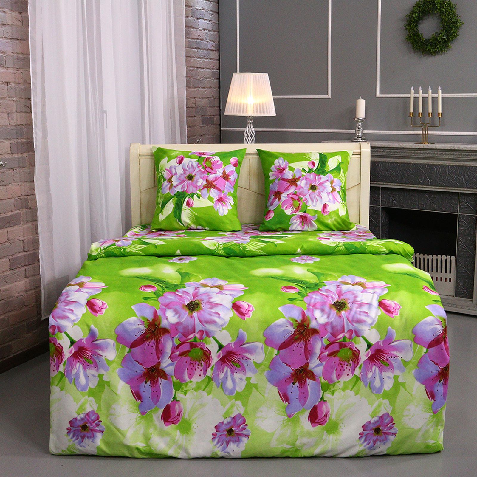 """Комплект постельного белья """"Цветочное сияние"""""""