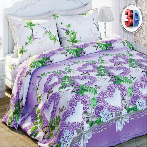 Комплект постельного белья «Нежная сирень»