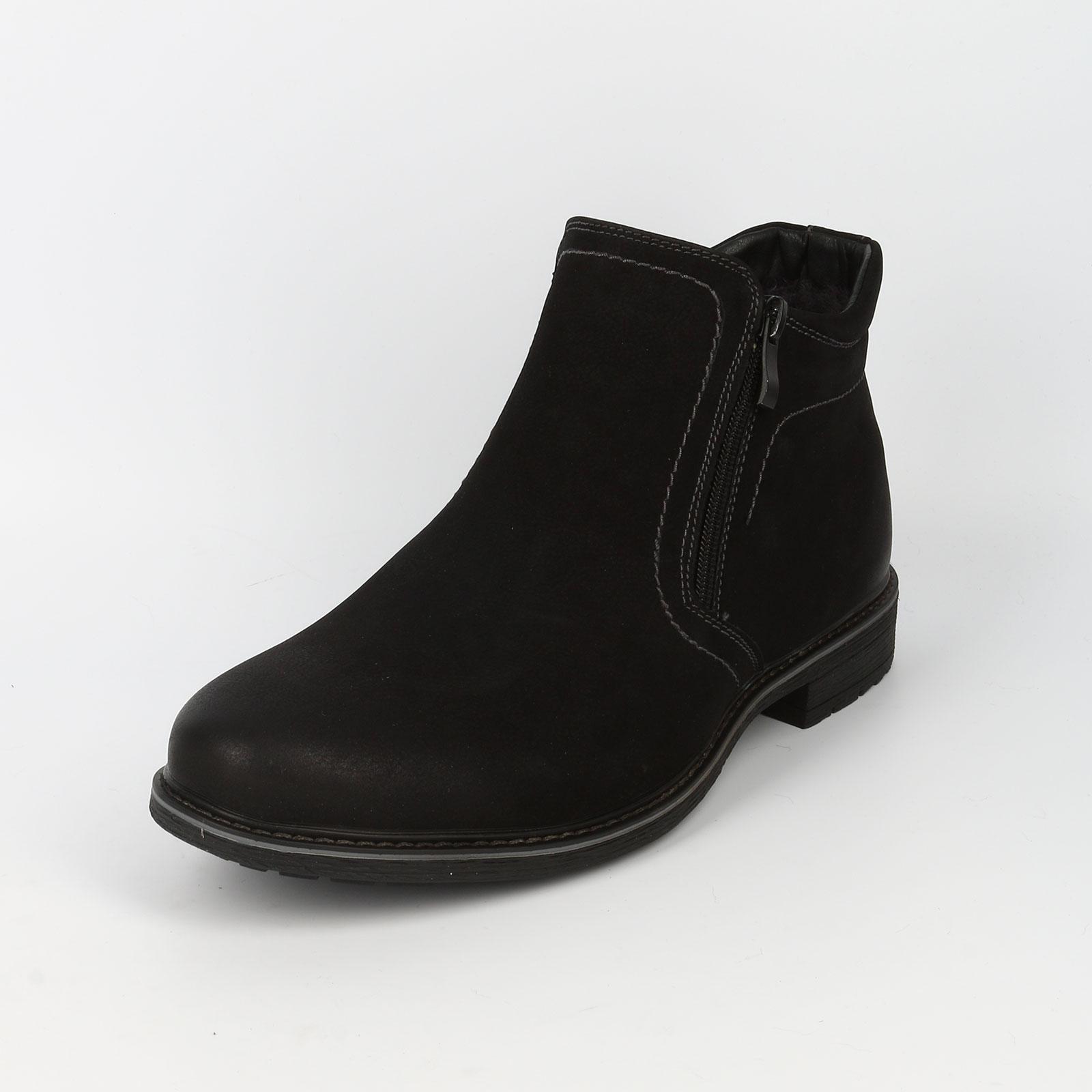 Мужские ботинки на высокой подошве