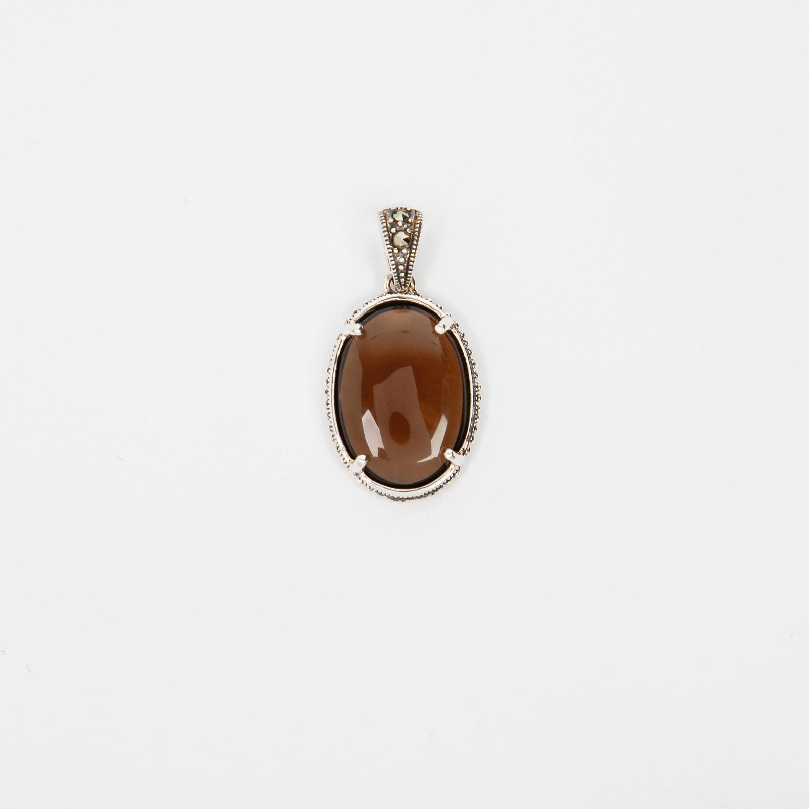 Серебряная подвеска «Золотые руны»