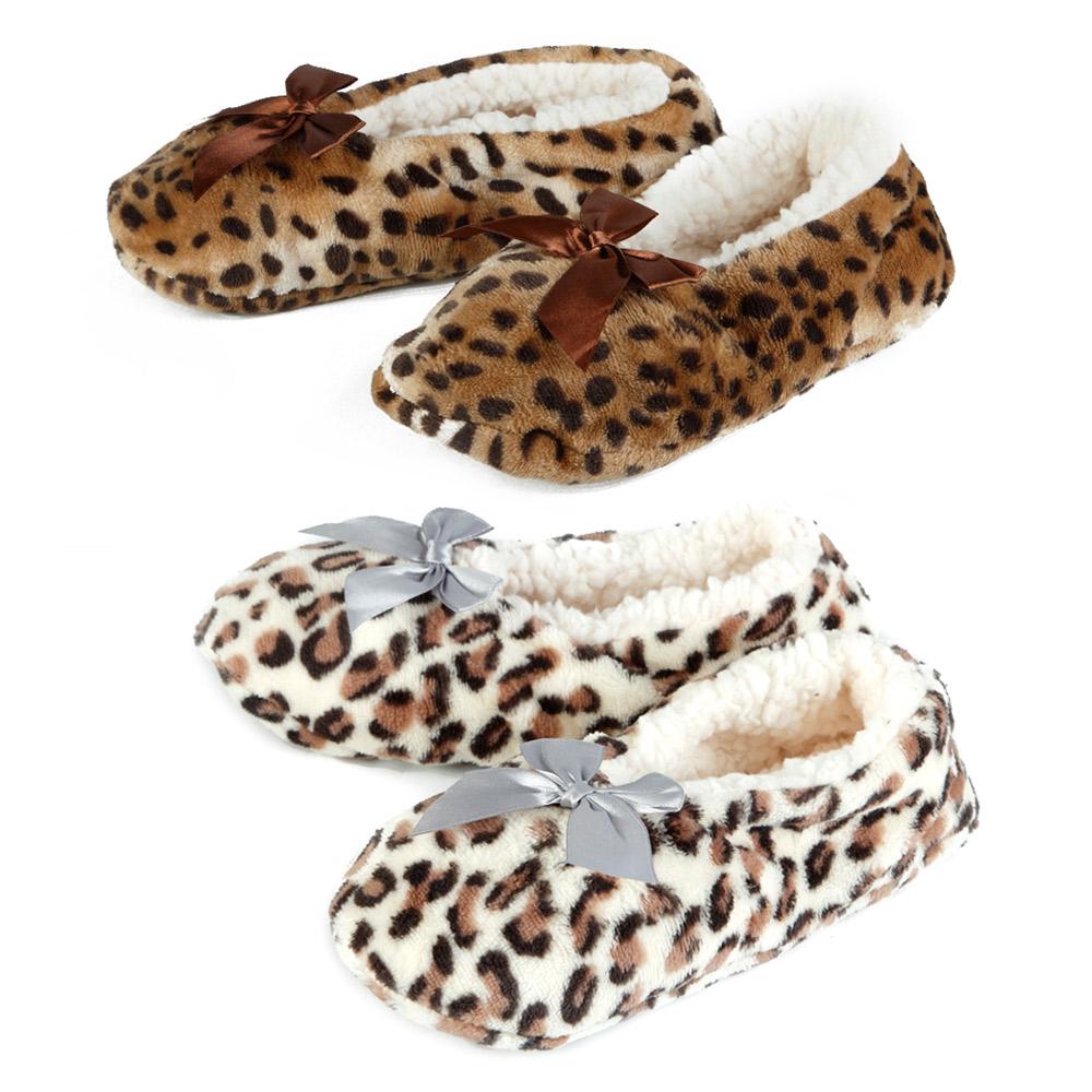 Комплект тапочек «Леопард»