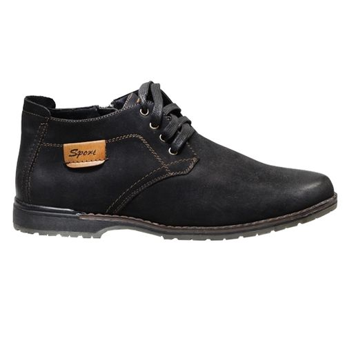 Зимние мужские ботинки на шнуровке
