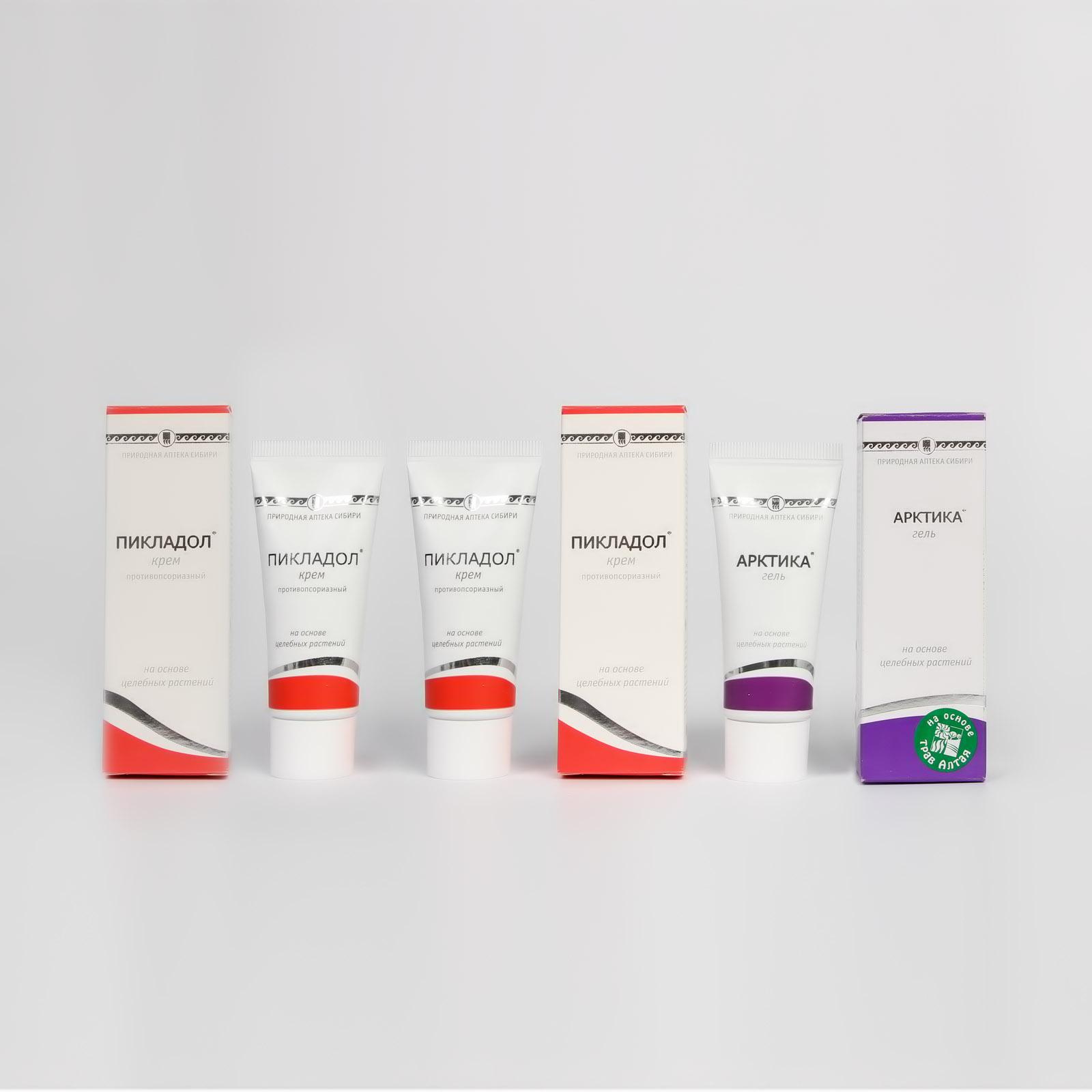 Крем противопсориазный «Пикладол», 2 шт. + подарок! шунгит уникальное средство против артрита гастрита аллергии псориаза диабета…