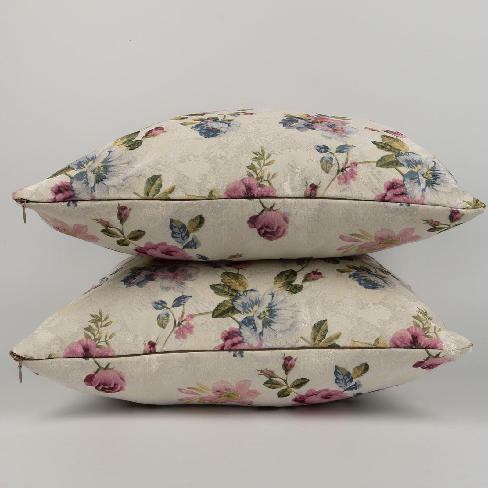 Комплект из 2-х декоративных подушек «Цветочный букет»