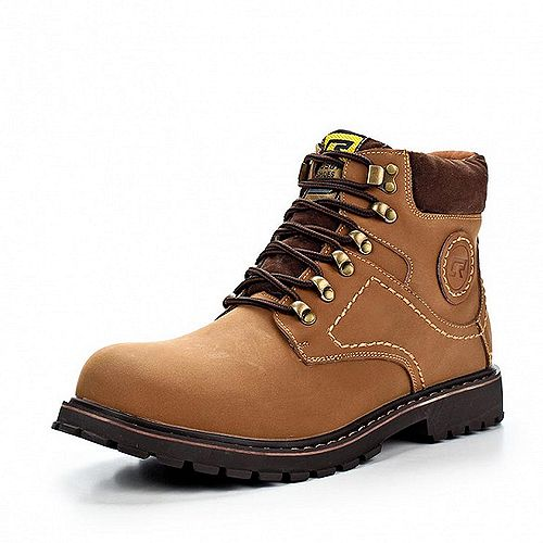 Зимняя обувь на шнурках
