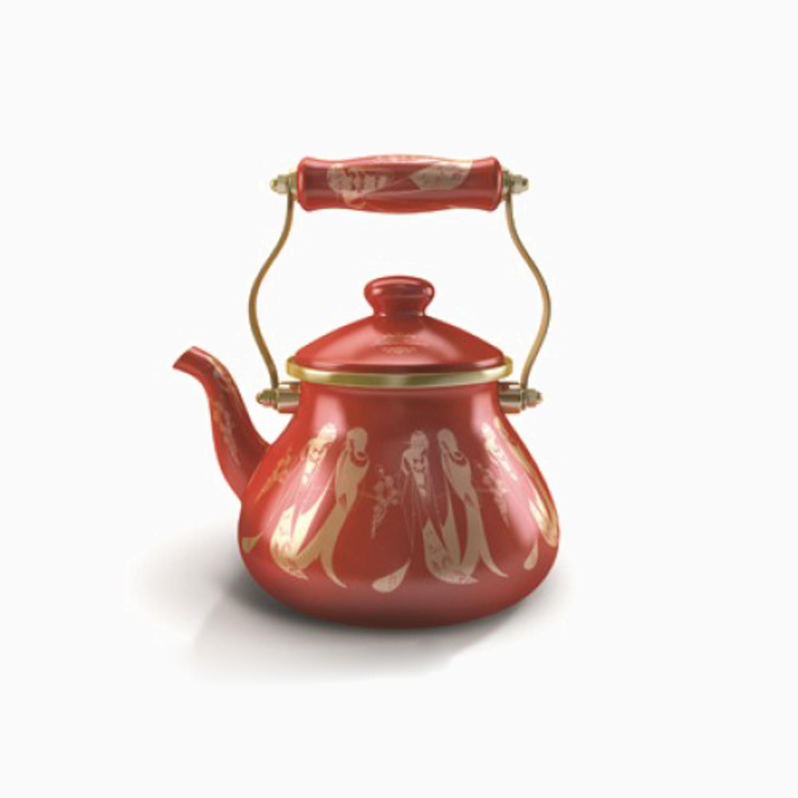 Чайник с позолотой «Уют дома»
