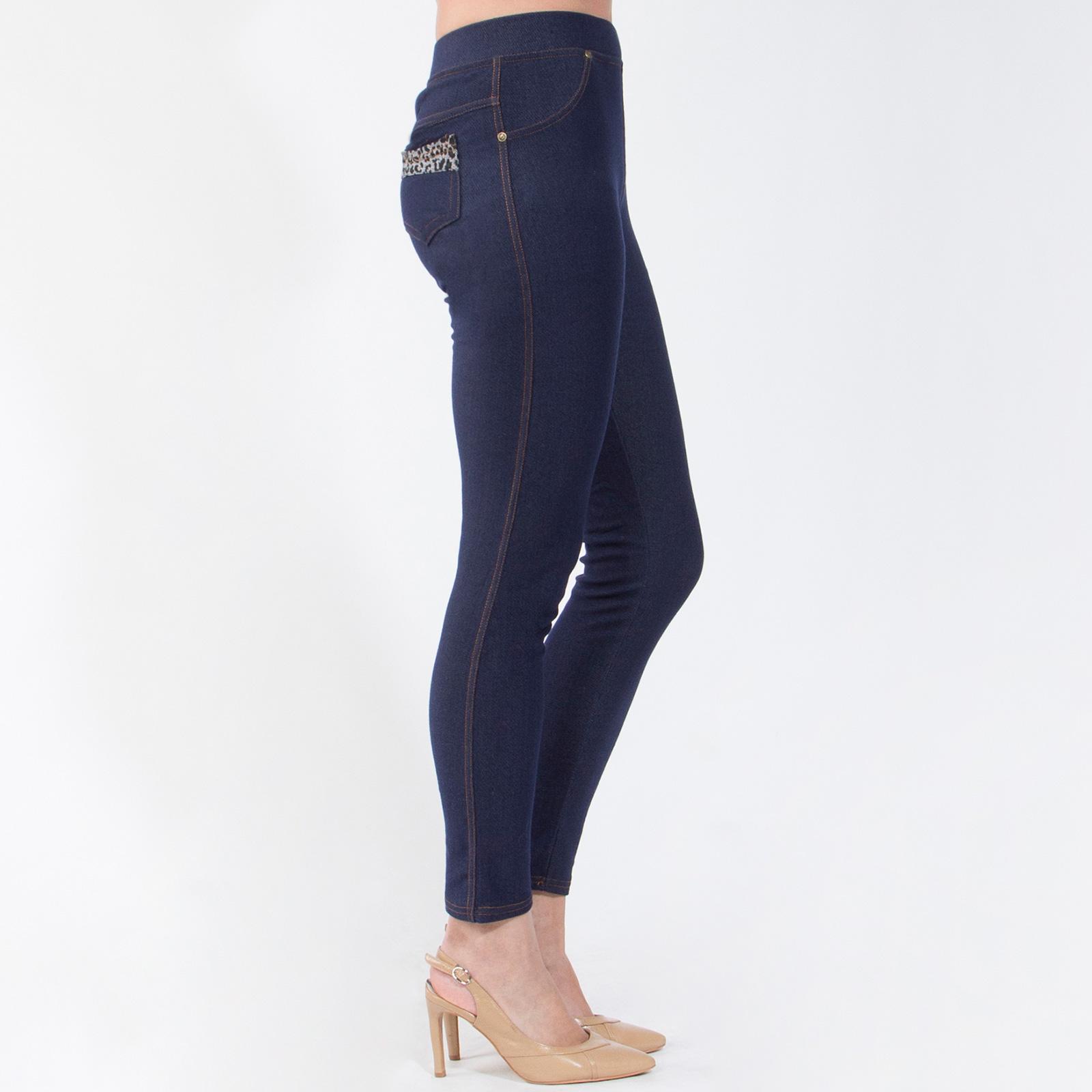 Кроеные леггинсы под джинсу «Фигура Белла»