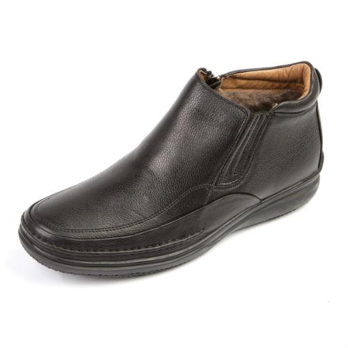 Кожаные зимние мужские ботинки на молнии как купить автомобильный чехол на запасное колесо в интернет магазине