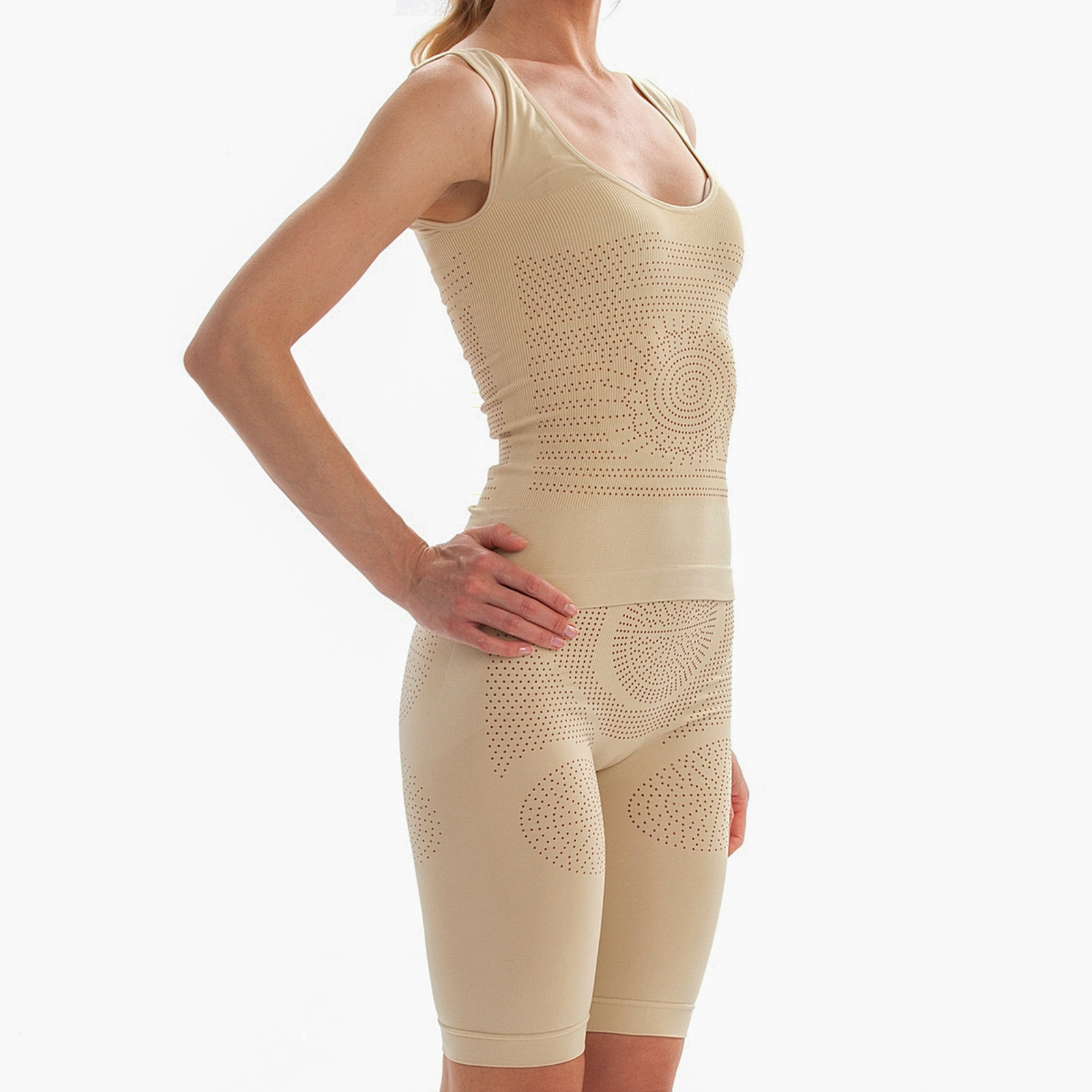 Набор утягивающего белья с турмалином L/XL