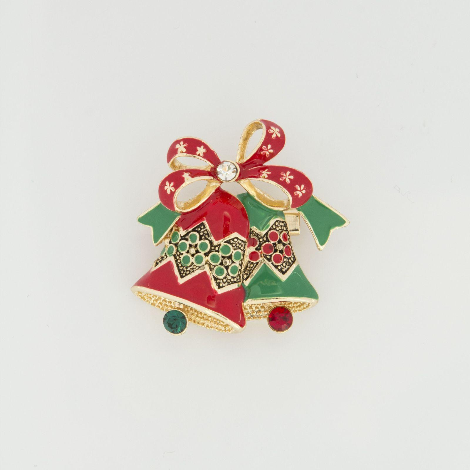 Брошь «Рождественский звон»