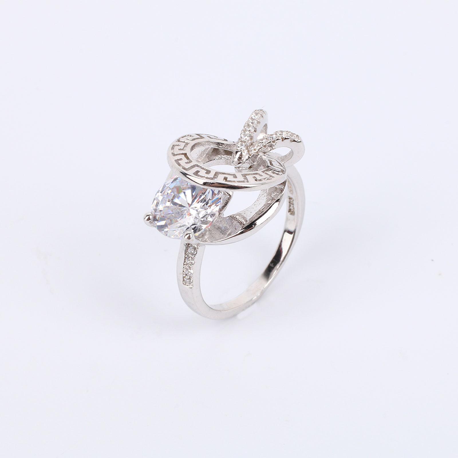 """Серебряное кольцо  """"Загадка Вселенной"""""""