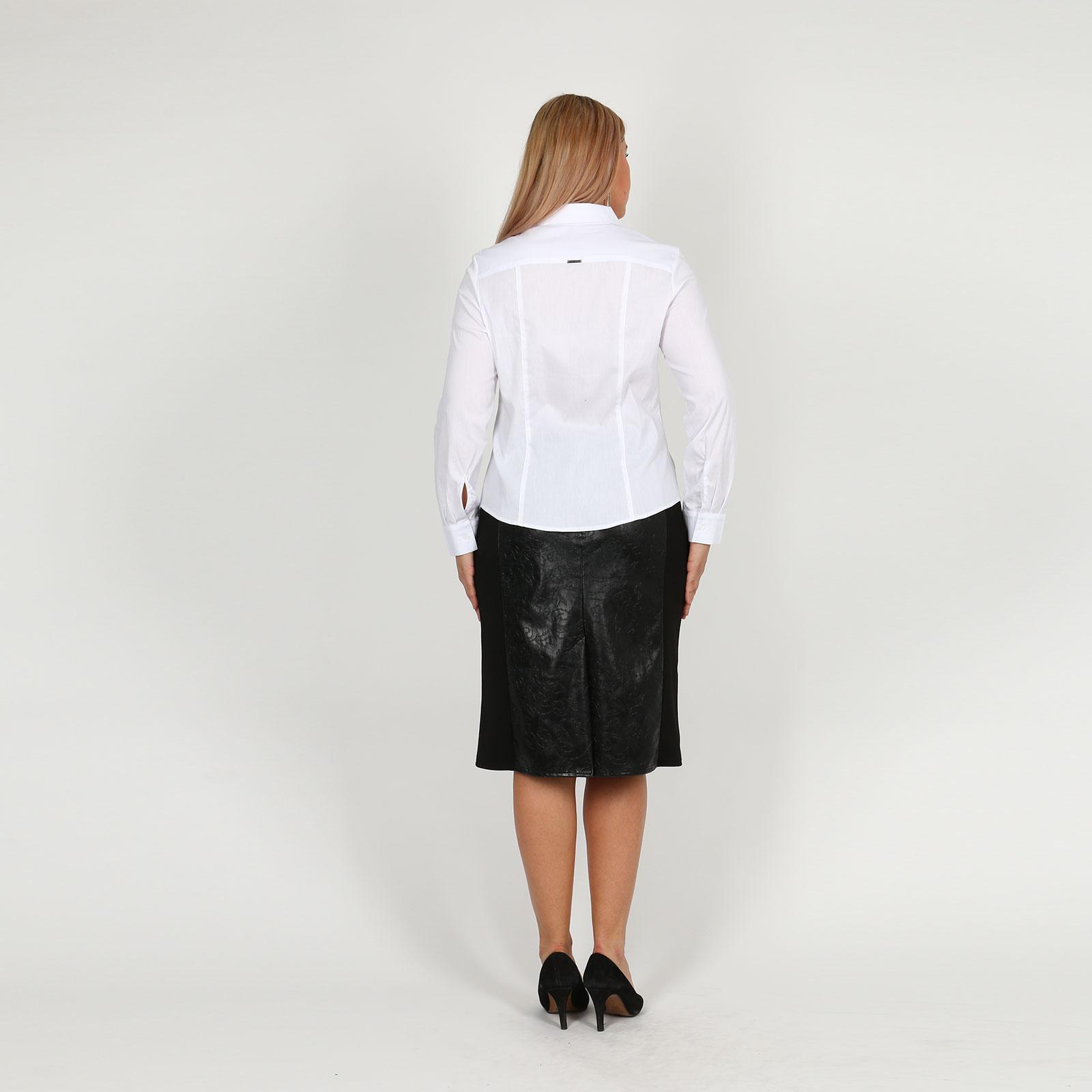Блузка С Отложным Воротником