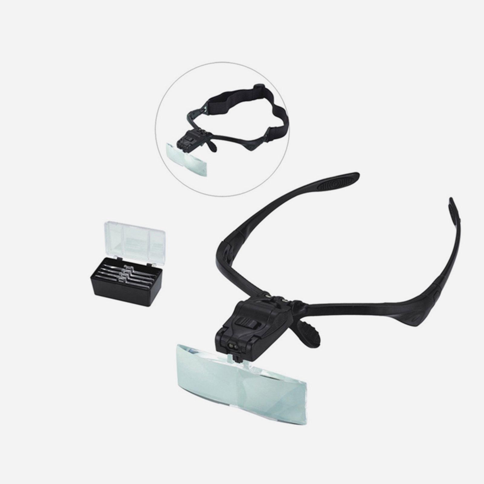 Лупа-очки с подсветкой