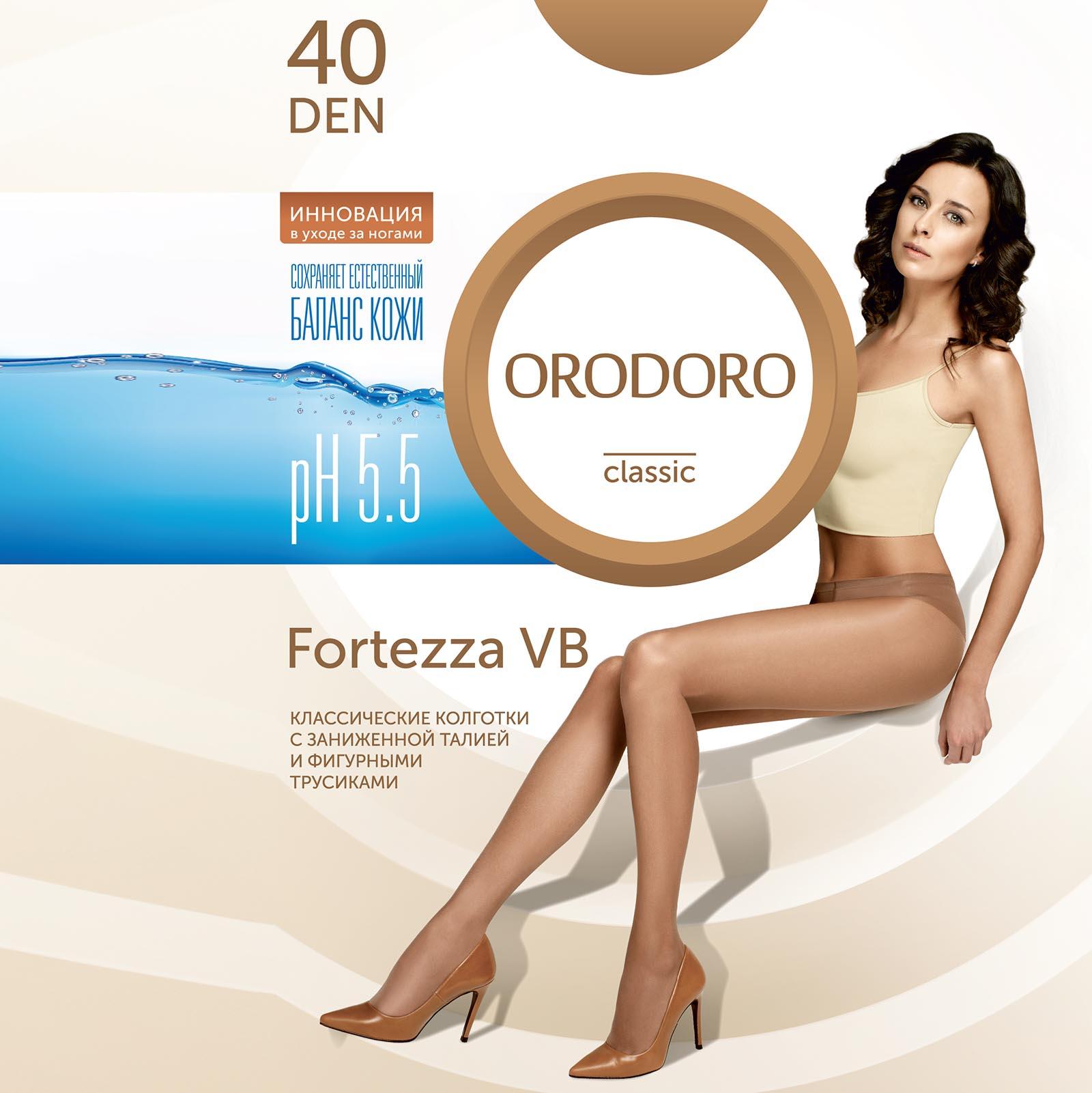 Комплект колготок «Идеальная кожа» Orodoro 40 den