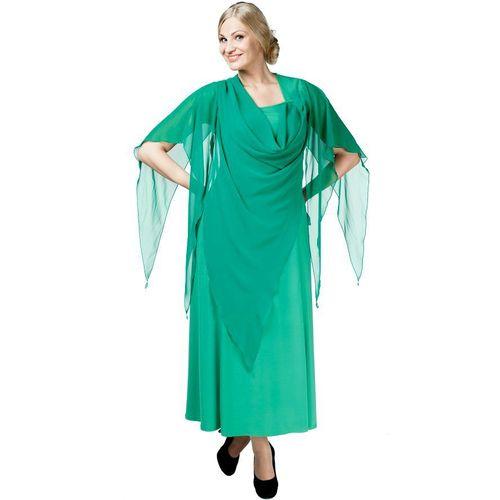 Платье с шифоновой накидкой «Восхищение»