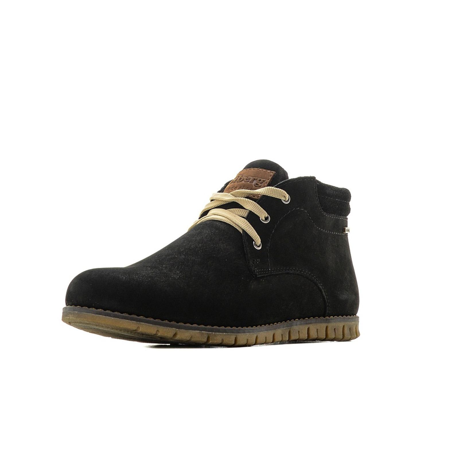 Ботинки зимние с верхом из нубука