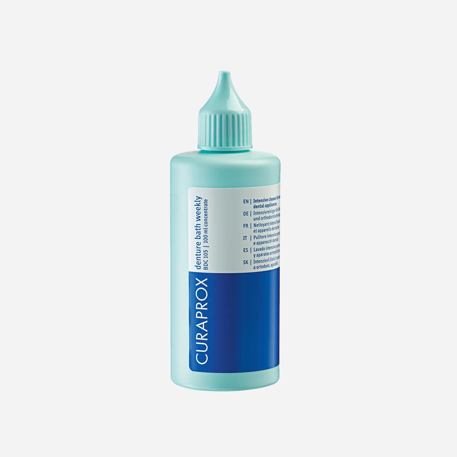 Жидкость для еженедельного ухода за зубными протезами