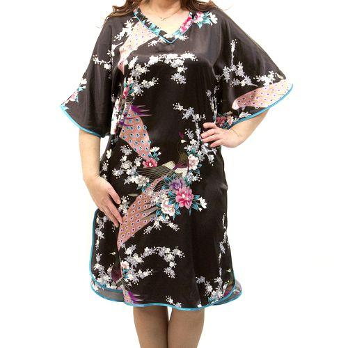 Домашнее платье «Перо жар-птицы»