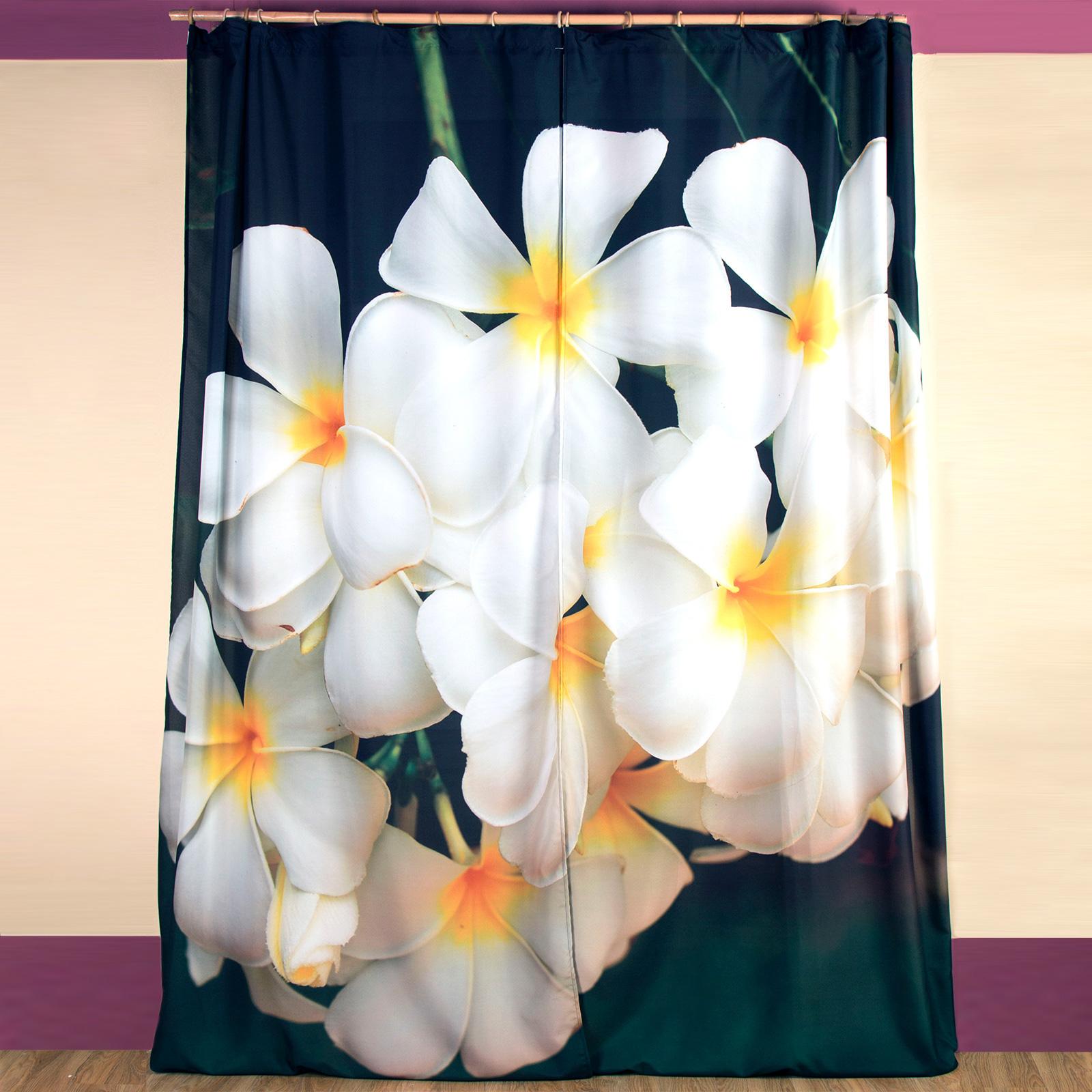 Комплект штор «Тропическая орхидея»