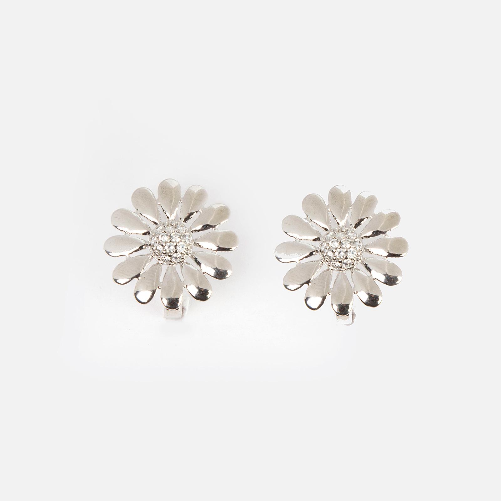 Серьги «Девичий цветок»