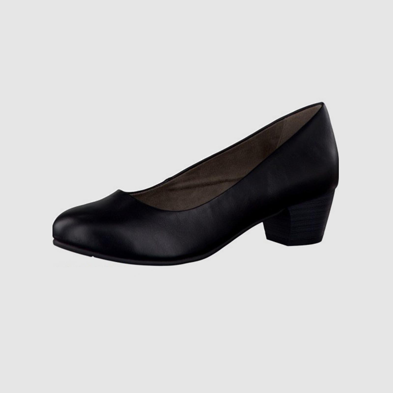 Лодочки женские классические на среднем каблуке