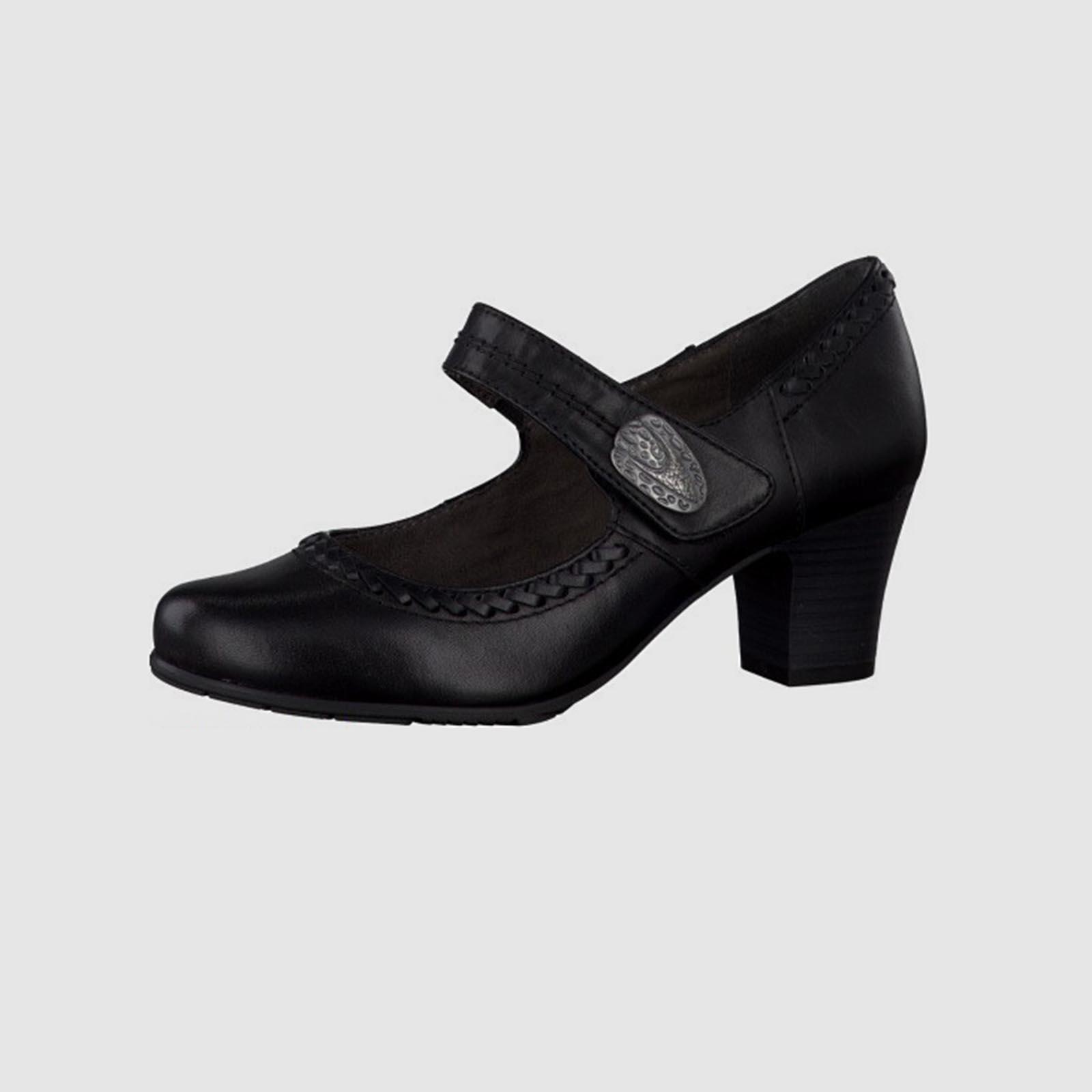 Туфли женские из натуральной кожи и с липучкой